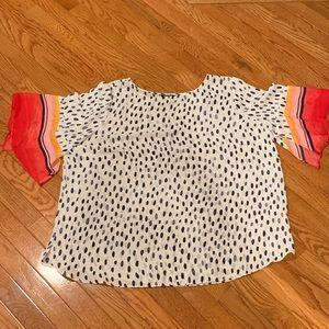 Nic + Zoe | Animal Print Shirt